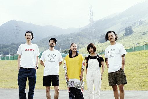 左から:山田剛、井上典政、元ちとせ、片木希依、粉川心