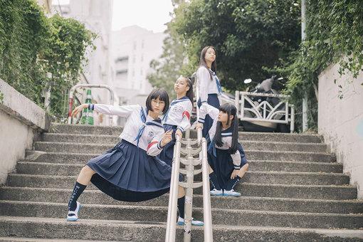 左から:SUZUKA、RIN、KANON、MIZYU