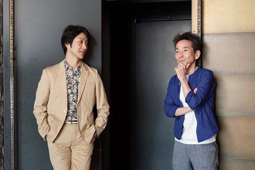 左から:野村萬斎、小野寺修二