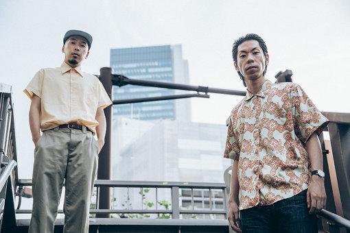 左から:下岡晃(アナログフィッシュ)、呂布カルマ