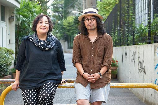 左から:荒木啓子(『ぴあフィルムフェスティバル』ディレクター)、曽我部恵一