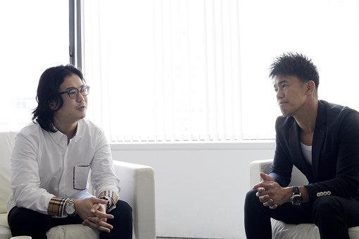 左から:反田恭平、武井壮