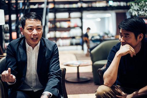 左から:松浦弥太郎、松沼礼