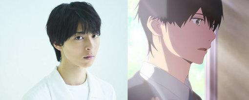 左から:高杉真宙、「僕」キャラクタービジュアル ©住野よる/双葉社 ©君の膵臓をたべたい アニメフィルムパートナーズ
