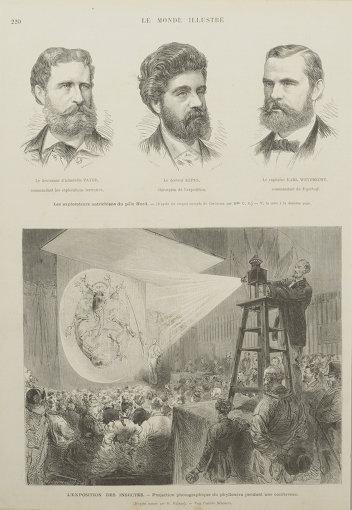 作者不詳『虫の投影』『ル・モンド・イリュストレ』より 1874年10月3日号
