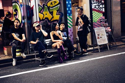 左から:稲岡求、岡田将孝、エリイ、卯城竜太、林靖高