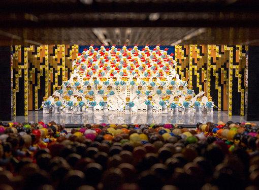 阪急三番街「HANKYU BRICK MUSEUM」に設置されている『宝塚大劇場』
