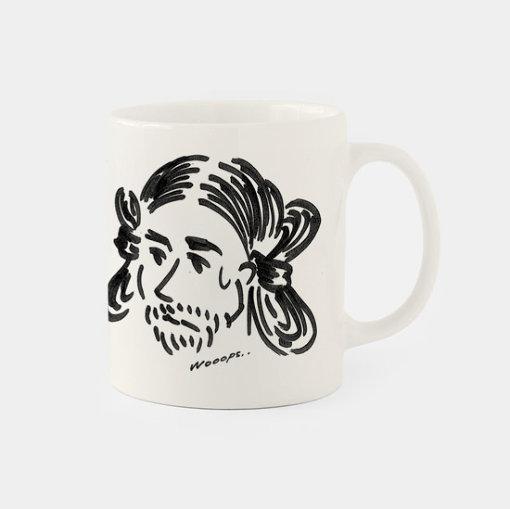 河原太朗の書き下ろしイラストによるCINRA.STOREオリジナルマグカップ