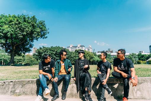 左から:Muhammad Fauzi Rahman、Muhammad Iqbal、陳珊妮、Rizki Firdaussahlan、Banon Gilang