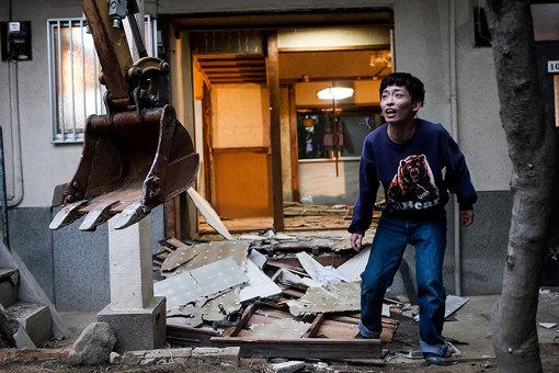 『文化住宅解体公演』の様子(撮影:木原千裕)