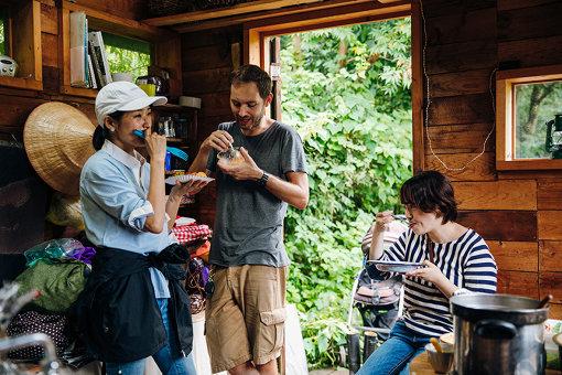 左から:長田杏奈さん、イェンス・イェンセンさん