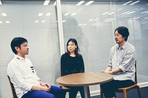 左から:小柴誠、伊藤舞、村松亮