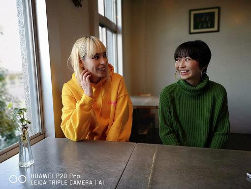 左から:Rachel、Mamiko