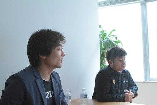 左から:柴那典、大谷ノブ彦(ダイノジ)