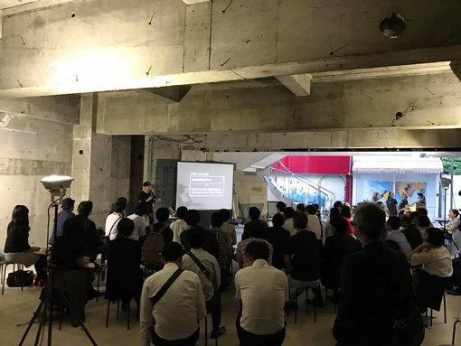 「ON THE ROOF」ではリノベーション工事期間中からトークイベントやDIYワークショップなどが開催された