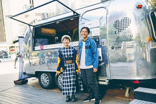 左から、砂糖シヲリ、KEN THE 390。