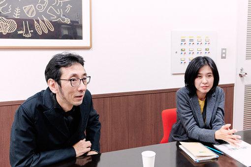 左から:大西康明、森谷佳永(神奈川県民ホールギャラリー)
