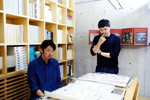 左から:田中義久、大原大次郎