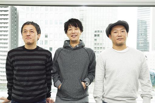GRAPEVINE(左から:西川弘剛、田中和将、亀井亨)