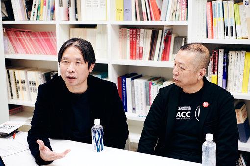 左から:月村寛之、浜田勲