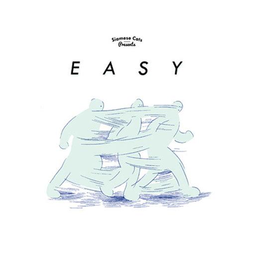 2014年10月開催『EASY』のキービジュアル。『EASY』はその後も複数回開催され、D.A.N.やnever young beachなども参加した