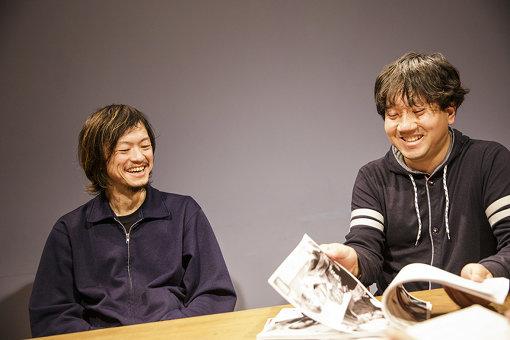 左から:外林健太、青山裕企