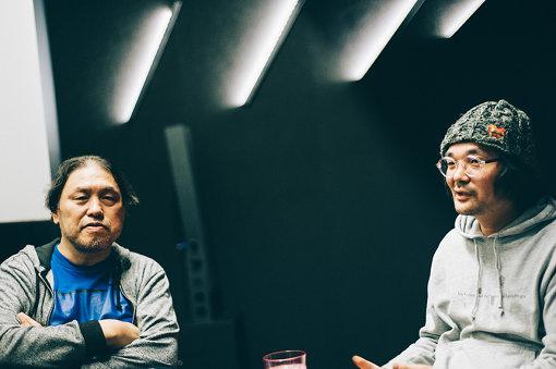 左から:浅井隆、直井卓俊