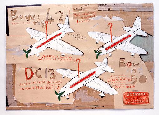 日比野克彦『PRESENT AIRPLANE』(1982年)