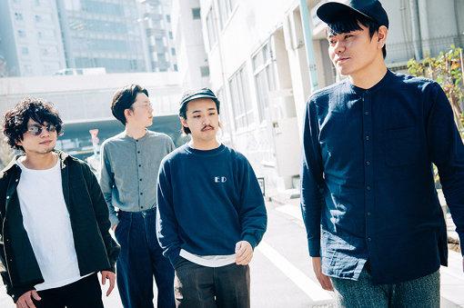 左から:Jun Uchino、Kan Sano、Ippei Sawamura、Yusuke Nakamura