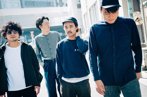 Last Electro(左から:Jun Uchino、Kan Sano、Ippei Sawamura、Yusuke Nakamura)