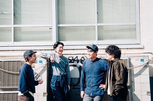 左から:Ippei Sawamura、Kan Sano、Yusuke Nakamura、Jun Uchino