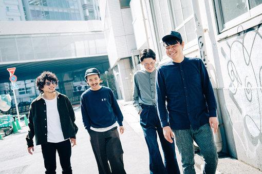 左から:Jun Uchino、Kan Sano、Ippei Sawamura、Yusuke