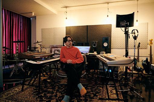 JQ。プライベートスタジオにて