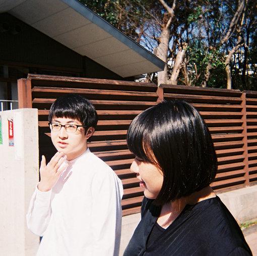 左から:崎山蒼志、石田真澄 / 撮影:CINRA.NET編集部