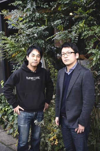 左から:野田威一郎(TuneCore Japan代表)、高橋明彦(LINE MUSIC 取締役COO)