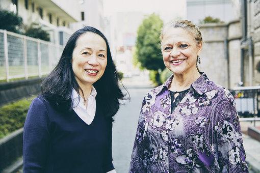 左から:小山久美(スターダンサーズ・バレエ団)、ジャネット・ヴォンデルサール
