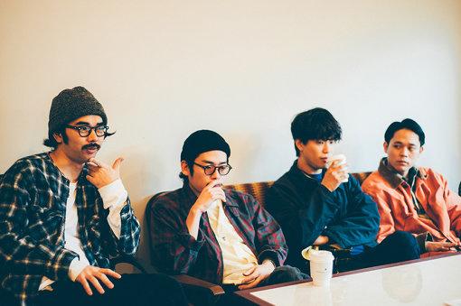 左から:上野恒星、竹村郁哉、角舘健悟、粕谷哲司