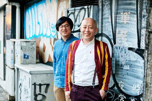 左から:西澤裕郎、クリトリック・リス