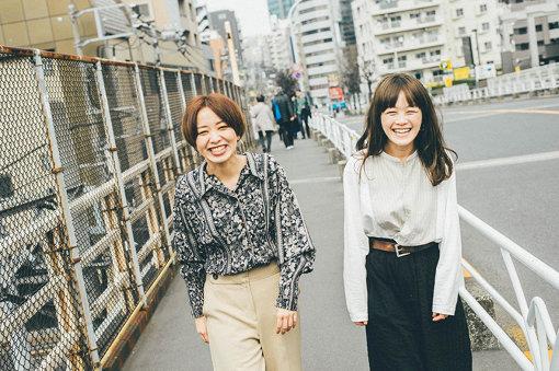 左から:黒田秋子、NakamuraEmi