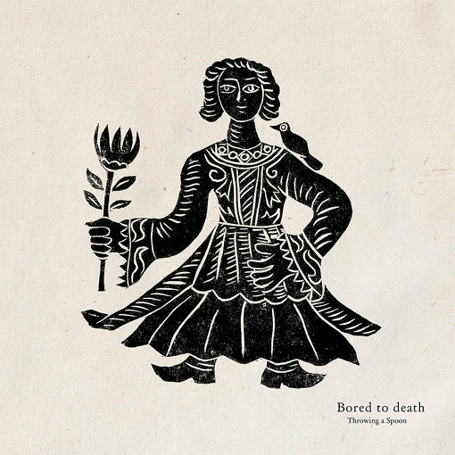 Throwing a Spoon『Bored to death』ジャケット