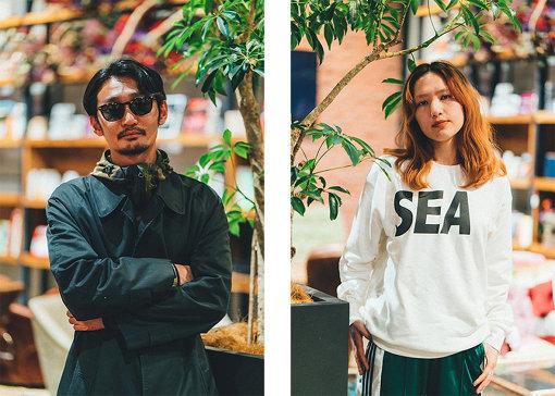 左から:TSUBAME(TOKYO HEALTH CLUB)、AAAMYYY(Tempalay)