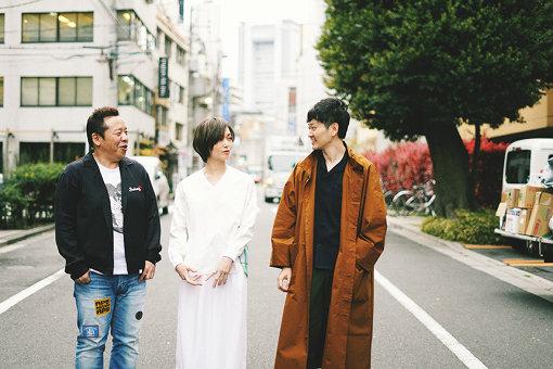 左から:保本真吾、三上ちさこ、松田剛