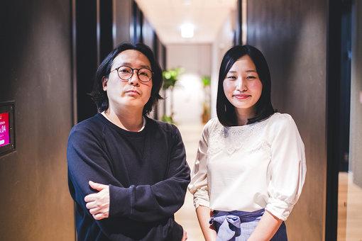 左から:中前省吾(エイベックス・エンタテインメント株式会社)、坪井一菜(マイクロソフト ディベロップメント株式会社)