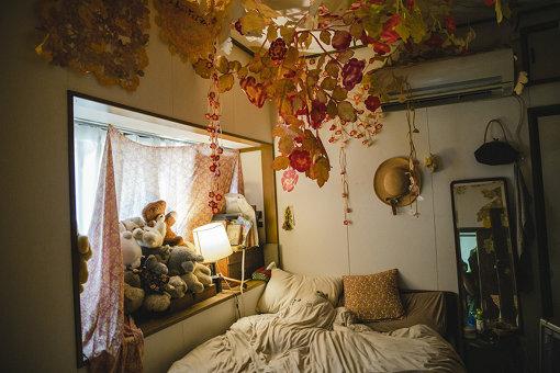 寝室の様子
