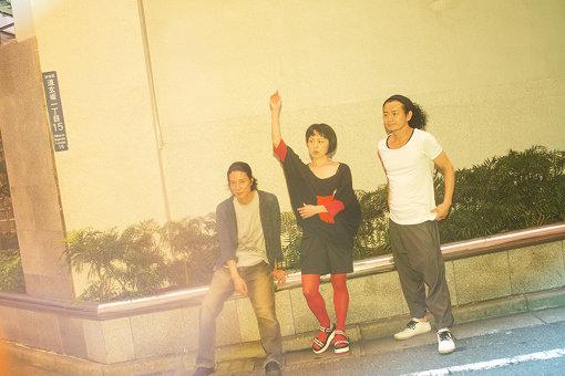左から:白井剛、東野祥子、鈴木ユキオ
