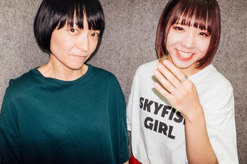 左から:田渕ひさ子、アユニ・D
