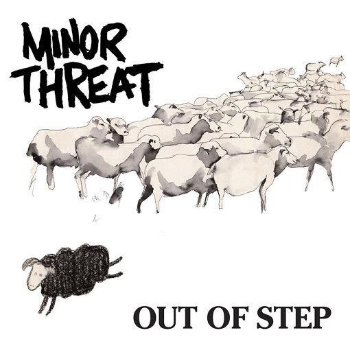 MINOR THREAT『OUT OF STEP』ジャケット写真
