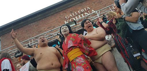 優勝発表の瞬間。写真提供:ayana kobayashi