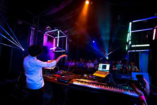 Maltine Recordsのイベントの様子 Photo:fumiyas