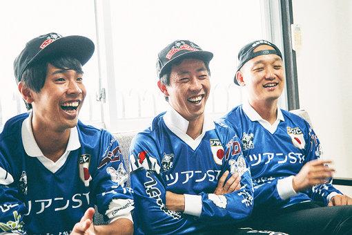 左から:金井貴史(タイーク)、森田哲矢(さらば青春の光)、みなみかわ
